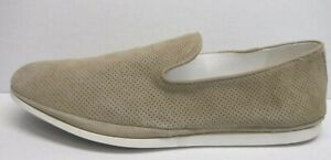 Steve Madden Size 13 Beige Leather Loafers New Mens Shoes