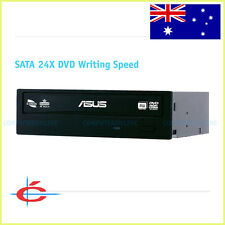 ASUS SATA 24x DVD Writer Dual Layer Burner Internal Drive for Desktop PC Black