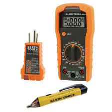 Klein Tools 69149 Noncontact Voltage and Outlet Multimeter Test Kit New