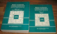 New Listing1991 Ford Truck F150 F250 F350 Bronco Super Duty Service Manual Set_Oem_Clean