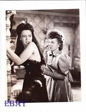 Ida Lupino tightens corset June Duprez VINTAGE Photo