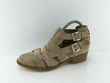 House Of Harlow 1960 Women's Stone Beige Leather Ankle Boots 39