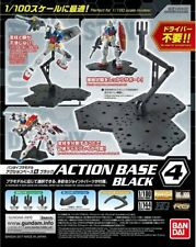 Bandai Gundam Action Base 4 Black Gunpla 1/100 Scale Display Stand USA Seller