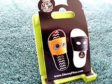 Disney * WALL-E & EVE - FLIP FLOPS - SANDALS * New on Card - 2 Pin Set