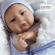 "Paradise Galleries Silicone Vinyl Reborn Baby Boy ""All the Ladies Love Me"""
