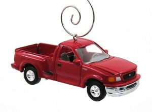 1997 Ford F150 Red Pickup Truck F-150 Christmas Ornament