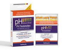 pH Teststreifen 125 Stück für Trinkwasser, -pH-Werte mit Speichel, Urin 4,5-9 pH