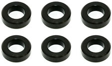 FUEL INJECTOR LOWER RAIL INSULATOR FOR NISSAN INFINITI - 16636-72P00 SET OF 6