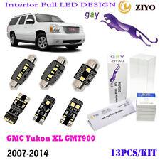 13Pcs LED Interior Light Kit Super White 6000K Fit 2007-2014 GMC Yukon XL GMT900
