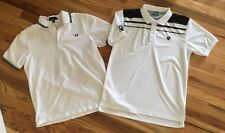 Fred Perry And Vollaix Retro Vintage Tennis Polo Shirts
