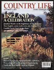 Country Life Oct 2003 BLENHEIM PALACE GOTHIC ART FOR ENGLAND PICTURESQUE GRASSES