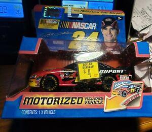 Jada Toys NASCAR #24 Motorized Pull Back Vehicle - Jeff Gordon PLEASE READ!