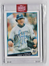 2019 Topps Archives Signature Retired Edition Auto /99 ERIC GAGNE on '09 Topps