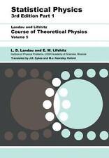 Statistical Physics: Volume 5: By L D Landau, E.M. Lifshitz