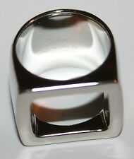 $240 NIB Chloé Chloe Daria Silver Ring Size 54