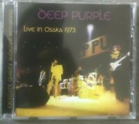 "DEEP PURPLE ""Live In Osaka 1973"" (RARE CD)"
