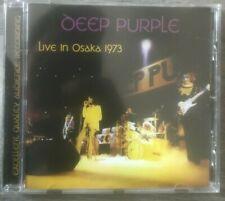 """DEEP PURPLE """"Live In Osaka 1973"""" (RARE CD)"""