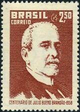 BRAZIL - 1958 - Politician Júlio Bueno Brandão - MNH Stamp -Scott #874