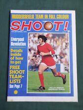 SHOOT - MAGAZINE- 12 SEPT 1970- WILLIE MORGAN- HUDDERSFIELD TOWN - GEORGE BEST