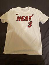 Nike Miami Heat Dwyane Wade White Player T-Shirt