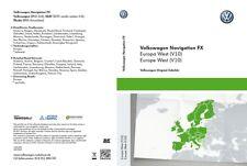 Original VW Carte-Sd pour Système de Navigation Fx Europe L'Ouest Rns 310 / V10,