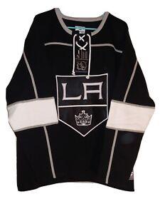Los Angeles Kings Fanatics Branded Breakaway Lace Up Pullover Sweatshirt - Black