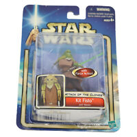 Star Wars: Attack of Clones Kit Fisto Jedi Knight Action Figure (w-Force Action)