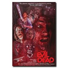 "The Evil Dead 12""x8"" 1981 Old Zombie Movie Silk Poster Art Print Wall Decoration"