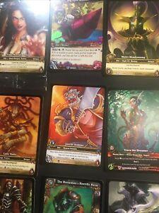 Lot of WOW World of Warcraft Tcg Ccg Foil, Epic, Promo, full art, LEEEEROOY JEEE