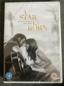A STAR IS BORN (2018) NEW SEALED DVD