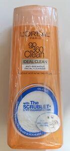 L'Oreal Paris GO 360 Clean, Anti Breakout Facial Cleanser For Acne Prone Skin