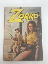 ZORRO #8 - 1980s 80s - Foreign Comic Book - VERY RARE - 6.0 FN