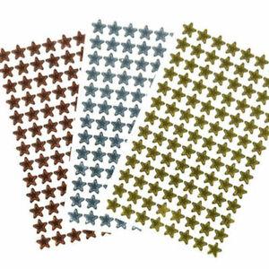 300+ Gold Silver Bronze 12mm Reward Star Stickers Set Parent School Office Chart
