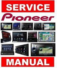 Pioneer AVH AVIC In-Dash GPS Navigation System Service Manual and Repair Guide