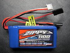 ZIPPY 1100mAh 2S 6.6V 10C LiFe Po4 BATTERY PACK FUTABA JR RECEIVER RX LiFePo4 RC