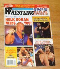 1989 Wrestling USA Magazine WWF WWE WCW  NWA Hulk Hogan Ricky Steamboat