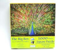The Big Boy 1000 pc Puzzle 19'' x 30'' Peacock New