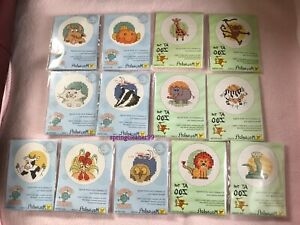 MOUSELOFT CROSS STITCH ~ AT THE ZOO and FRIENDLY PLANET ~ CHOICE OF 13