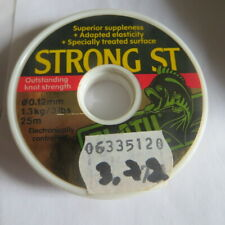 Fil 25 m – 1,3 kg – 0,12 mm – PLATIL – Strong ST 3,72