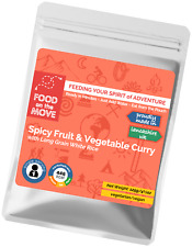 Food Supplies: Lightweight Dehydrated Pouch Meal - Spicy Fruit & Vegetable Curry