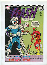 FLASH #166 (9.2) CAPTAIN COLD AND HEAT WAVE! 1966