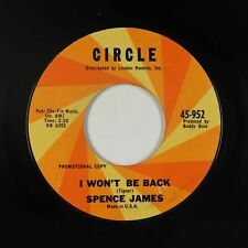 Northern/Deep Soul 45 - Spence James - I Won't Be Back - Circle - mp3
