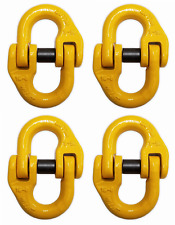 "(4 pack) 5/8"" Mechanical Coupling Link, Hammerlock, 8 Ton (16000 lbs) WLL"