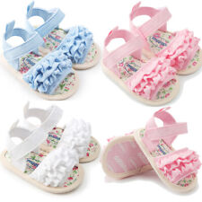 Baby Flower Sandals Princess  Shoes Sneaker Anti-Slip Soft Sole Toddler Shoeses