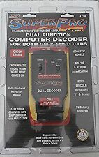 Make Waves  Super Pro Code Reader #7148 Tester for GM and Ford Vehicles