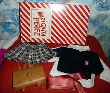 Mariquita Perez  Doll School Uniform & Backpack *NIB  **RETIRED