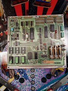 Williams Pinball Gorgar Mpu System 6 Working!