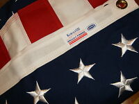 Valley Forge American Flag 3'x5' sewn Koralex II -Proudly Made in the USA