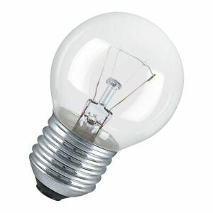 Osram 25W 230V ES E27 Round Globe 45mm 300° Oven Lamp