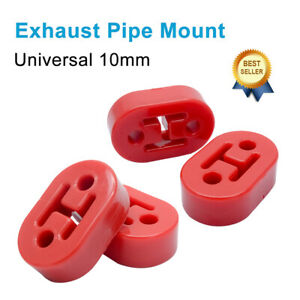 4x Heavy Duty Exhaust Hanger Bracket Mounting Rubber Support Rover 10mm hole UK